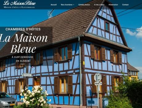 Gite Maison Bleue